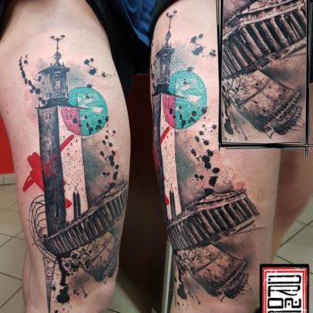 george-drone-abstract-tattoo
