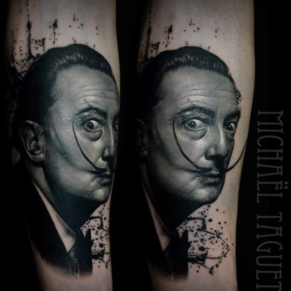 michael-taguet-dali-tattoo
