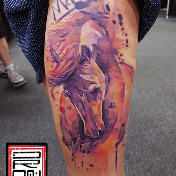 george-drone-horse-tattoo